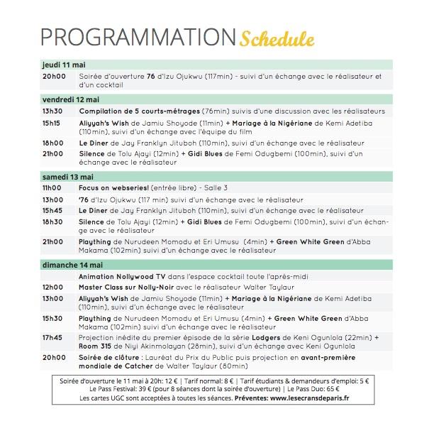 programmation fr