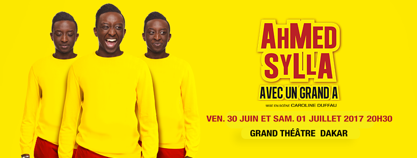 You are currently viewing One Man Show: Ahmed Sylla à Dakar