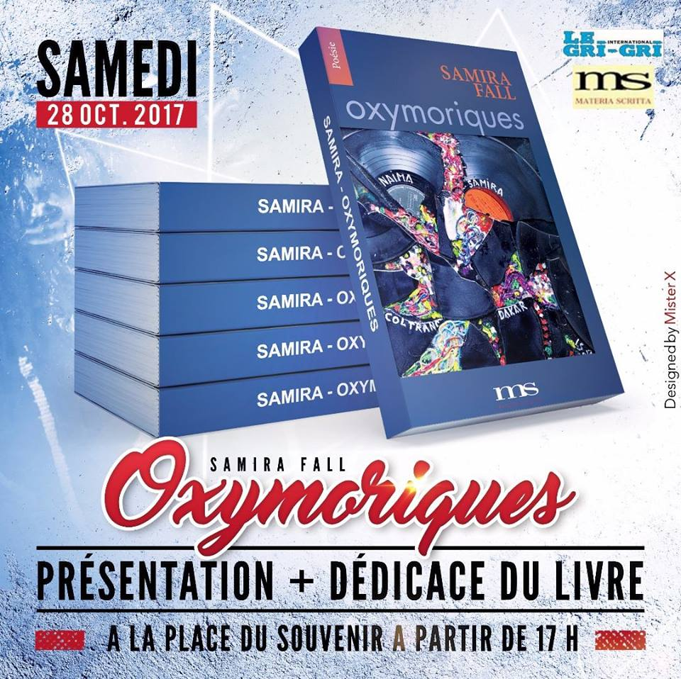 You are currently viewing Littérature: OXYMORIQUES,   de Samira FALL