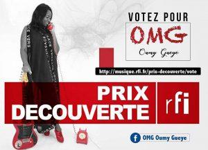 Read more about the article Musique : Oumy Gueye, finaliste prix découverte RFI 2017