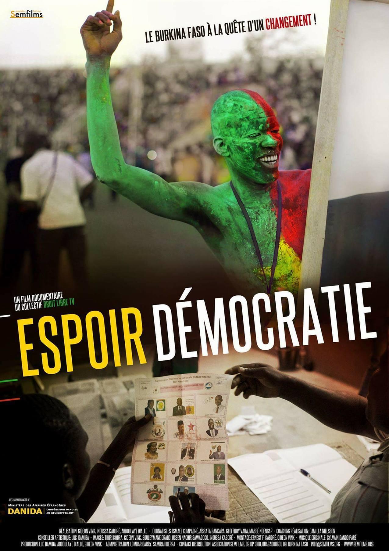 Read more about the article Espoir Démocratie à Ciné Droit Libre