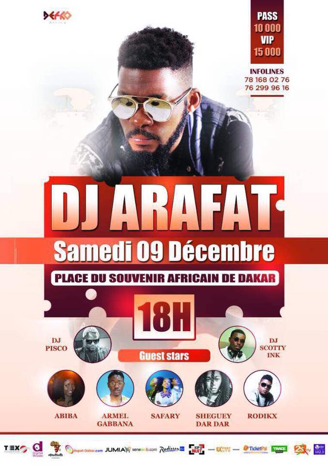 Read more about the article Dj Arafat à Dakar : le programme