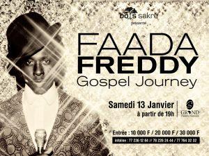 Read more about the article Faada FREDDY : Ndongo m'a convaincu de faire Gospel Journey