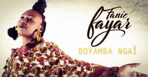 Read more about the article Musique: Une  voix d'or dans l'album « BOYAMBA NGAI » de  Fanie FAYAR