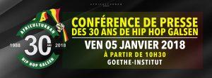 Read more about the article Evènement : 30 ans du Hip – Hop au Sénégal
