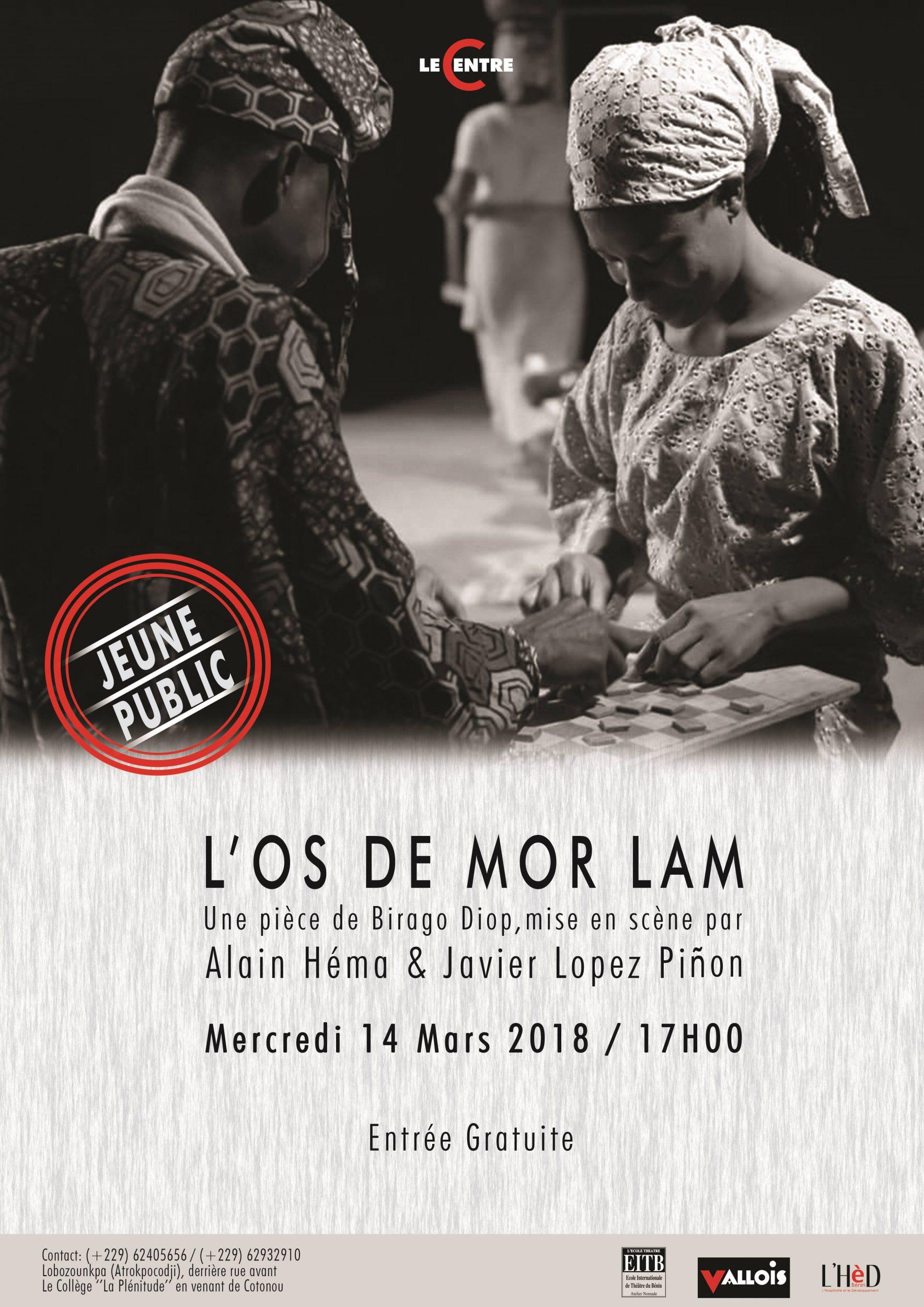 """You are currently viewing Spectacle de théâtre au Centre de Lobozounkpa """"L'os de Mor Lam"""" : véritable coup de cœur du jeune public"""