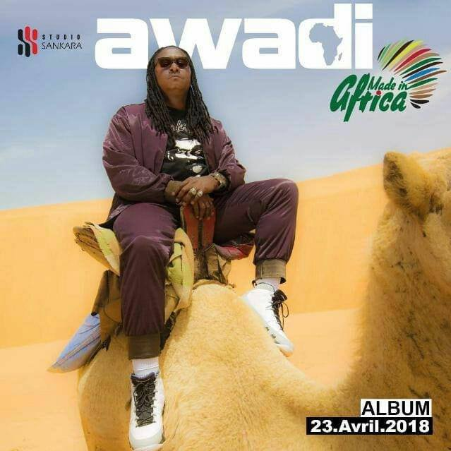 Read more about the article Musique : Made In Africa de Awadi dans les bacs ce 23 Avril 2018