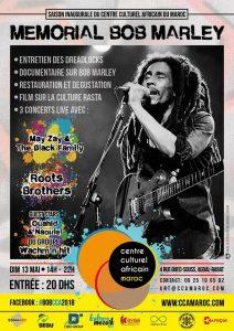 Read more about the article Maroc : Commémoration du 37è anniversaire de la disparition de Bob Marley, belle célébration du reggae au Centre culturel africain