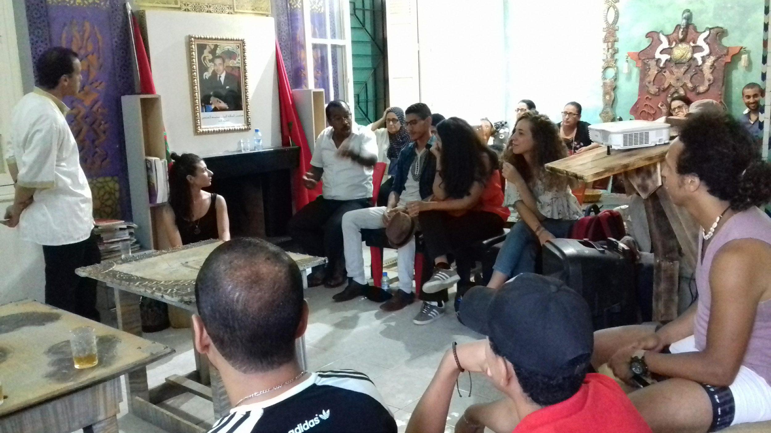 Read more about the article Week-end musical au CCA du Maroc: le Gnaoua au menu d'une soirée festive