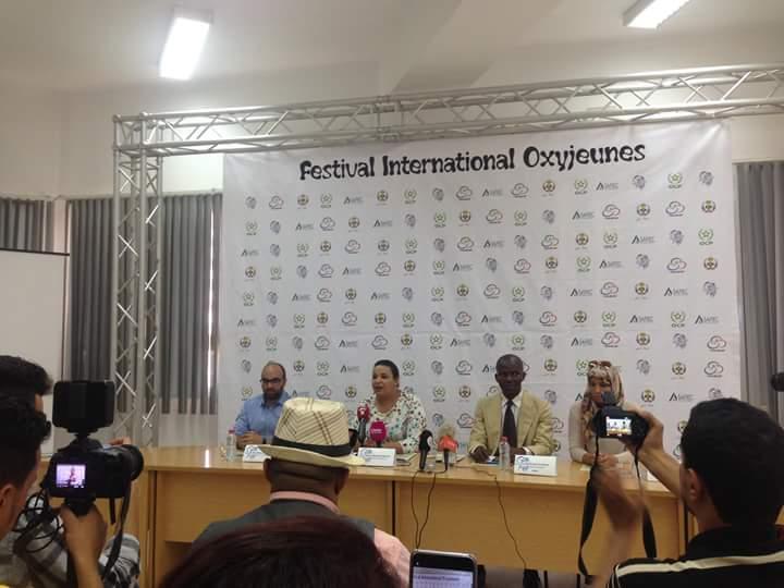 """Read more about the article Conférence de presse de l'Association «Jeunes Abir» """"Le Festival International OxyJeunes de Safi tiendra toutes ses promesses"""" (Dixit la Directrice de l'événement, Loubna Maaroufi)"""