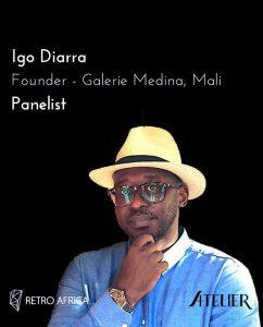 Read more about the article Interview : De la Galerie Médina à la Biennale de Bamako, Igo Diarra pour une nouvelle dynamique créative au Mali