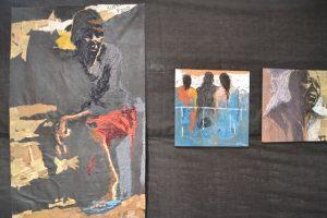 Read more about the article Critique d'art : Souffle et immigration du plasticien ivoirien Wilfried Djaha