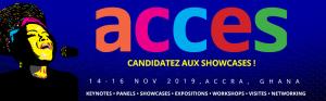 Read more about the article Appel à candidatures: showcases ACCES 2019