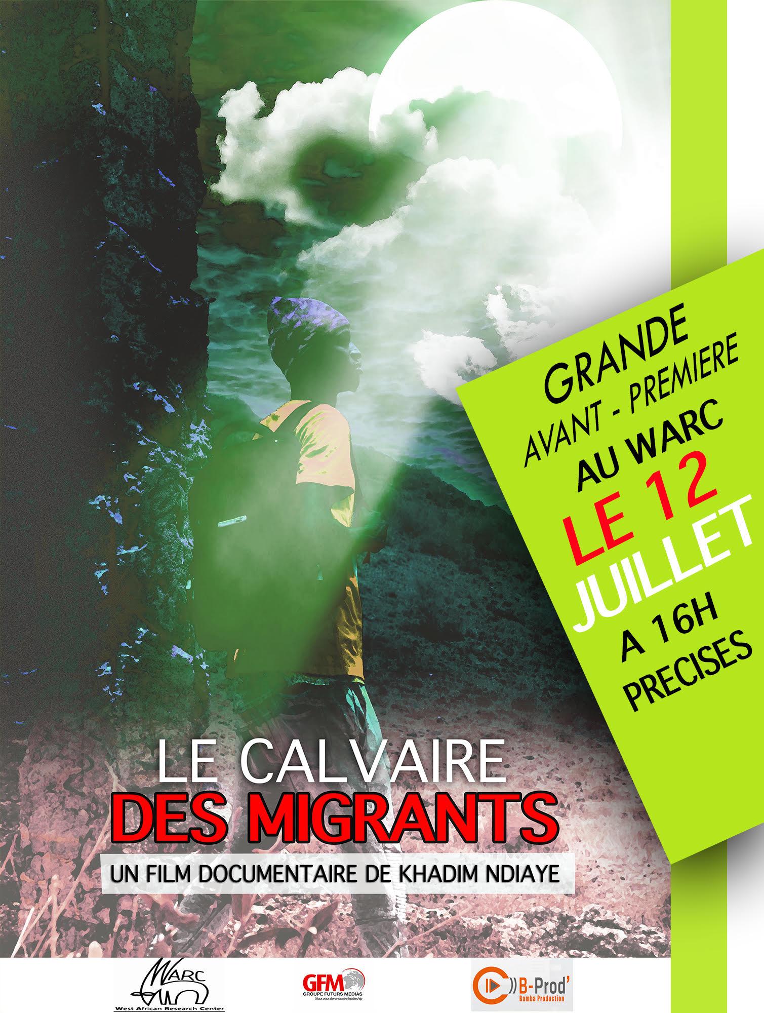"""Read more about the article """"Le Calvaire des migrants"""" de Khadim Ndiaye au WARC"""