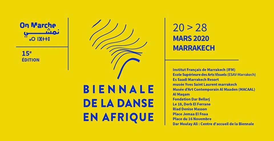 Read more about the article Biennale de la danse en Afrique 2020 et le Festival « On marche » : deux événements en un à Marrakech