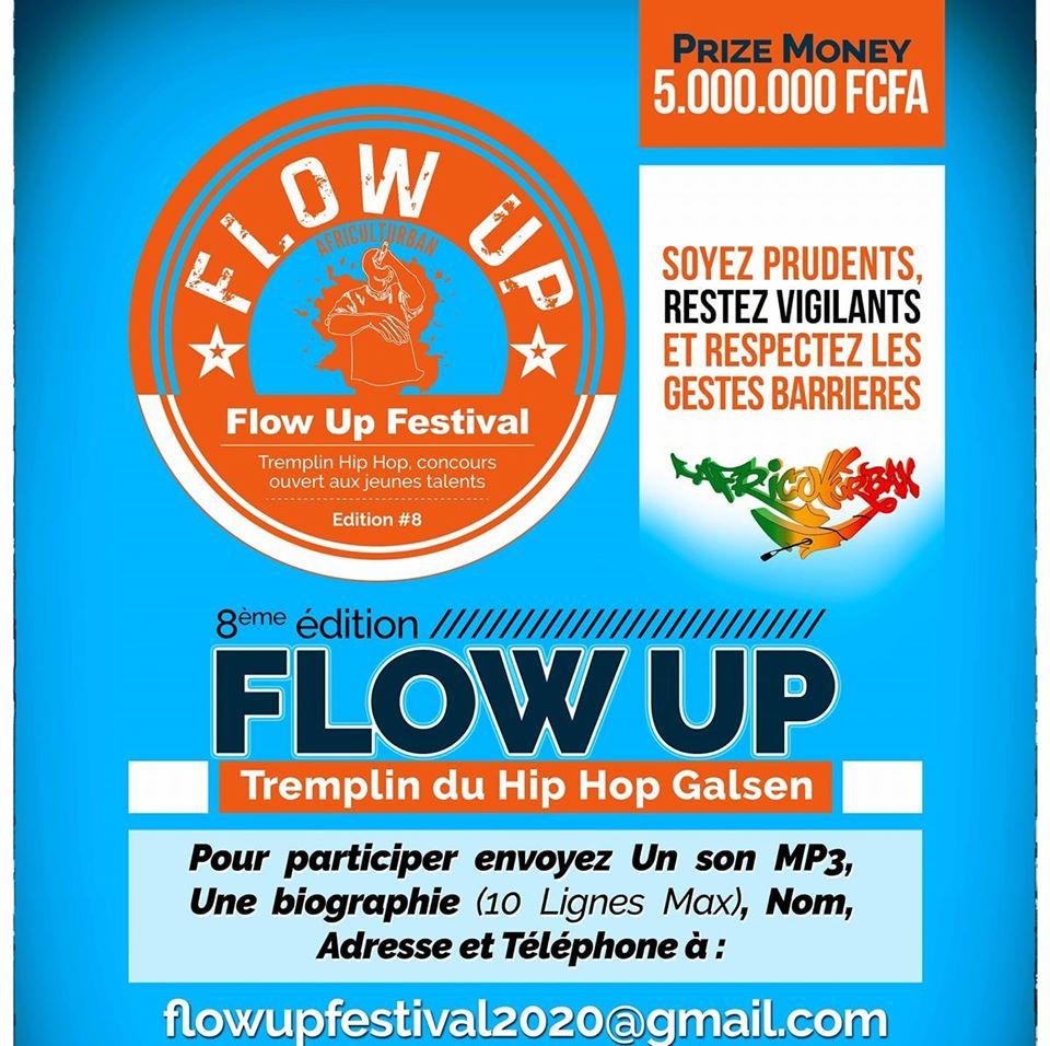 Read more about the article Flow up 2020 : 1088 rappeurs vont se disputer 5 millions Cfa